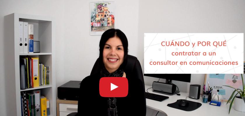 contratar a un consultor en comunicaciones
