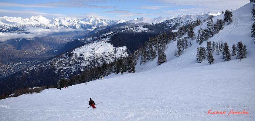 emprender es como esquiar