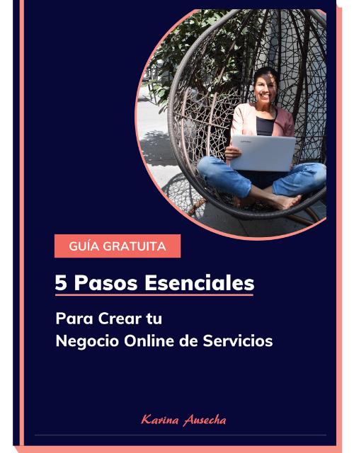 portada guia 5 pasos para crear tu negocio online de servicios