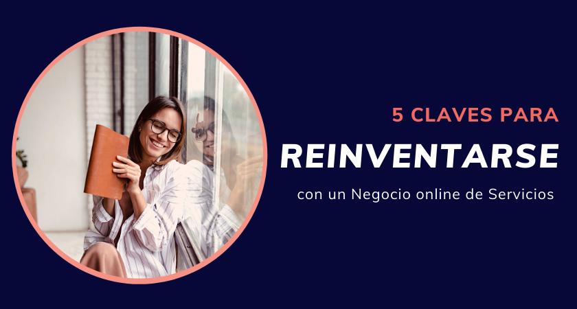 reinventarse con un negocio online de servicios